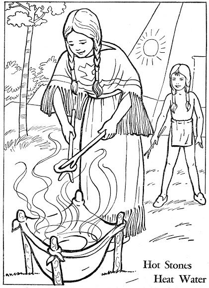 fur trade coloring pages - photo#38