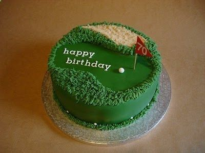 Golf Cake Ideas   Golf Cake