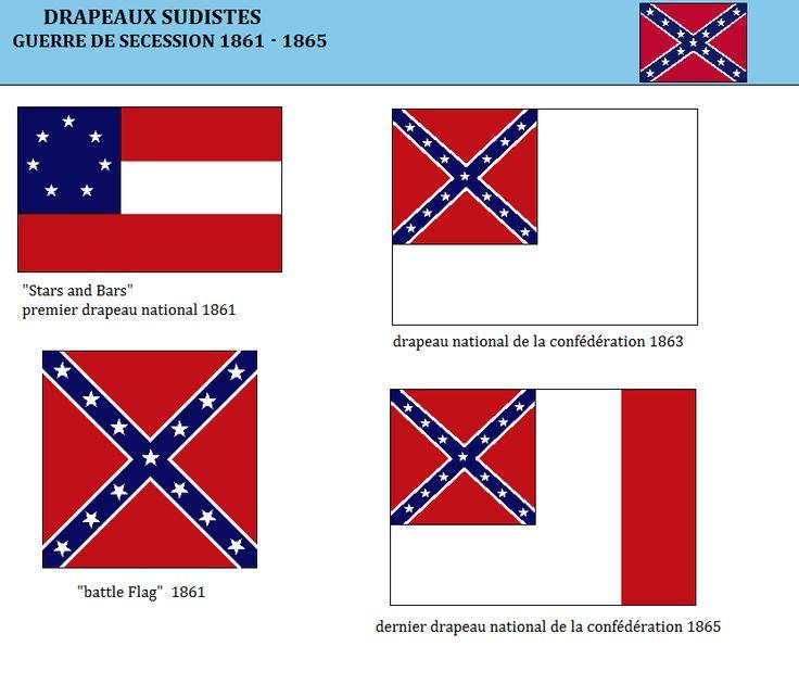 Les drapeaux de la Confédération (1)