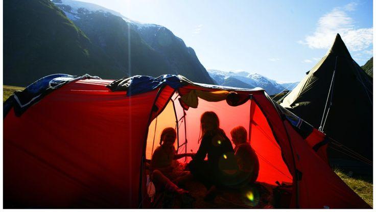Telttur med barn - TELTTUR: Les pakkelista før du stikker på tur. - Foto: Sune Eriksen / Den Norske Turistforening