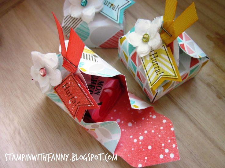SAB 2015: MonCheri-Goodies mit dem Envelope Punch Board