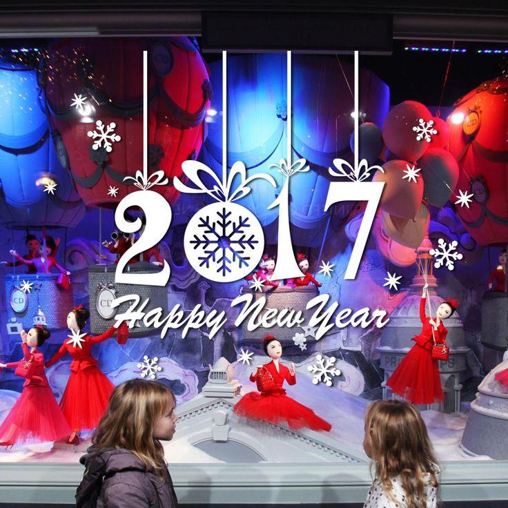 Рождеством Новый Год 2017 Рождество Дерево Стены Наклейки рождественские украшения для дома стены наклейки vinilos паредес натальной купить на AliExpress