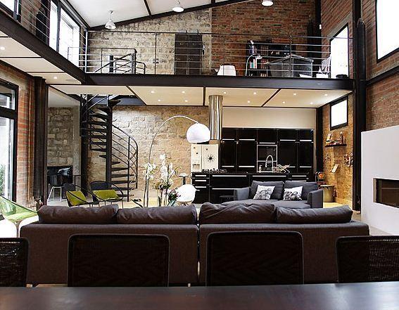 Modern Loft best 20+ brick loft ideas on pinterest | rustic loft, loft style