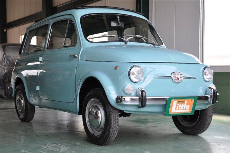 """Fiat500 """"Giardiniera(1972)"""