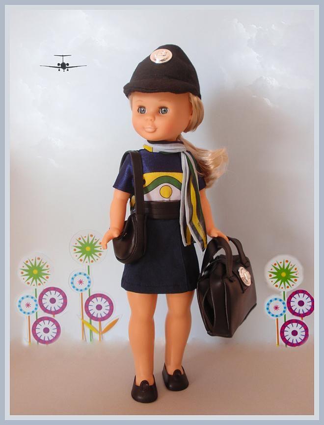 Azafata 1977 (Inma's Doll Collection