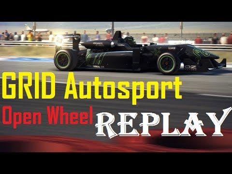 GRID Autosport Race - Indianapoles - Open Wheel - Formula C - Replay / П...