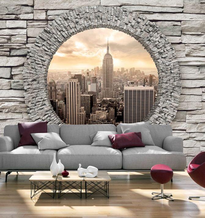 60 besten wandbilder und fototapeten big city life bilder auf pinterest architektur. Black Bedroom Furniture Sets. Home Design Ideas