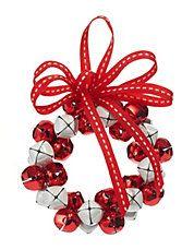 Winter Charms Tiny Jingle Bell Wreath