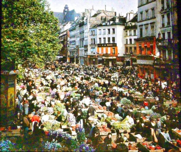 Rue Rambuteau 1914