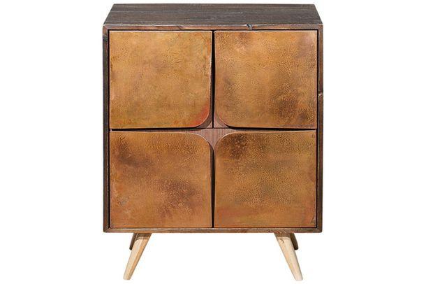 Тумба, старая древесина, медь, Roombox.