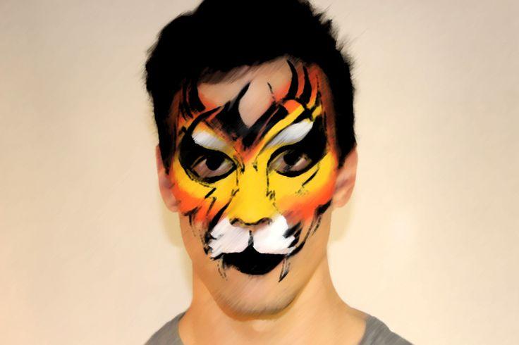 tiger @truecoloursmakeupschool 2013