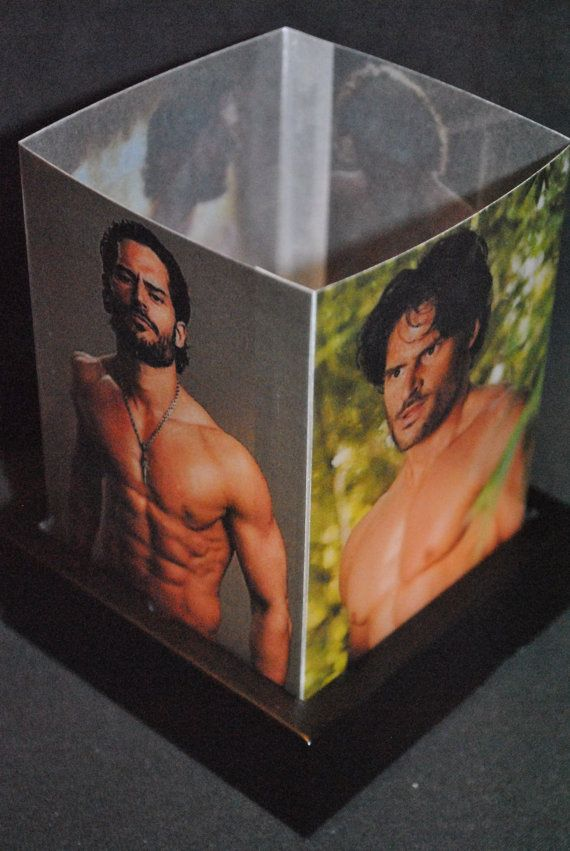 Omfg I need this lamp!!! True Blood Alcide/Joe Mangiello Luminary by CherylsCreativeBlock, $18.99