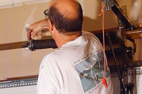 How to Replace a Garage Door Torsion Spring - easily and safely
