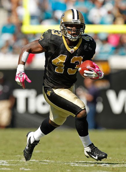 Darren Sproles RB 43 New Orleans Saints joined power balance because he believed it worked and had a record breaking season ( now he Is on the eagles)