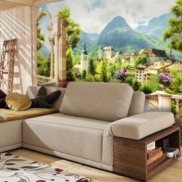 poster mural montagne finest poster mural montagne with poster mural montagne fabulous. Black Bedroom Furniture Sets. Home Design Ideas