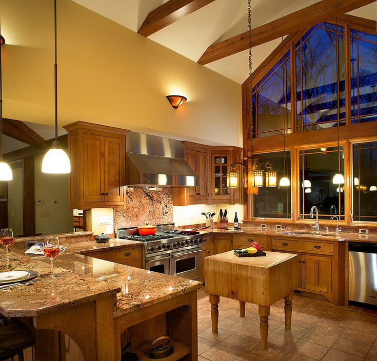 Amish Kitchen Cabinets Ohio: Craftsman Style Kitchen Cabinetry