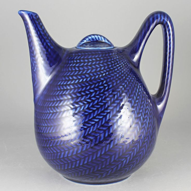 Hertha Bengtsson (Blue Fire 1951) Iconic Tea Pot