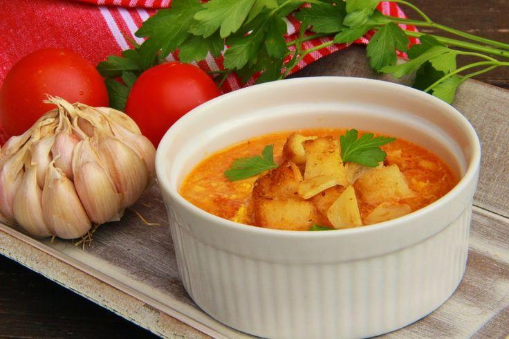 V kuchyni vždy otevřeno ...: Rajčatová španělská česnečka