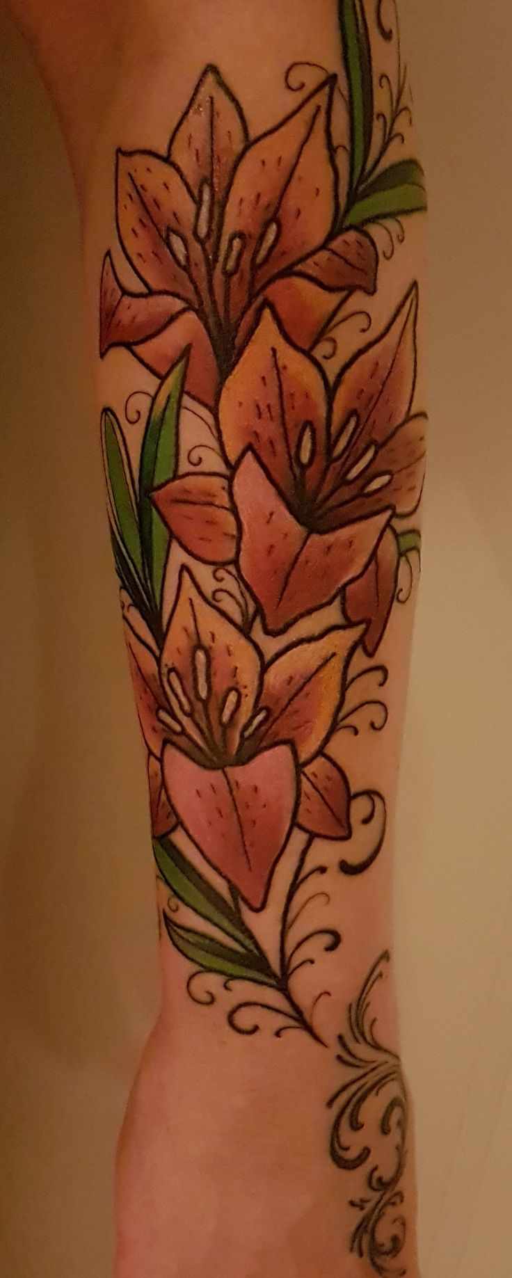 My latest tattoo on my lower arm.