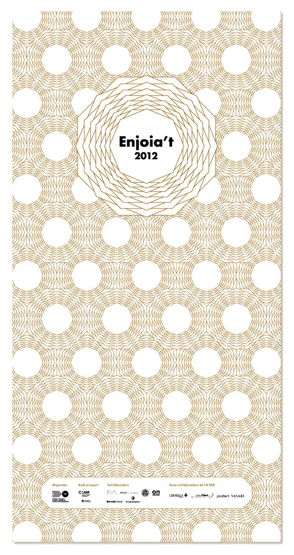 Identity for Enjoia't Awards 2012