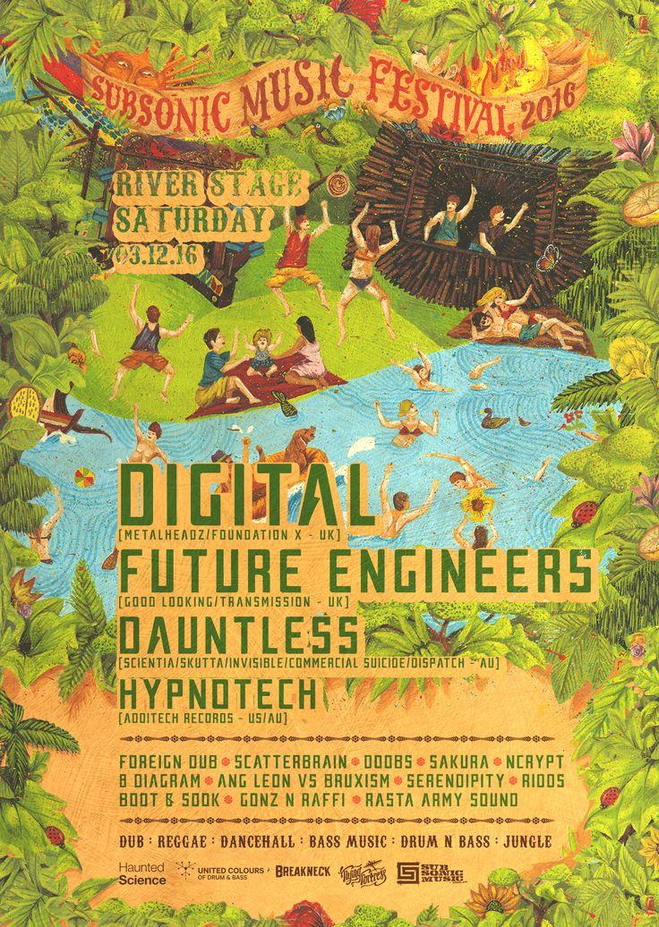 Subsonic Festival 2016 Digital & Future Engineers -Sydney