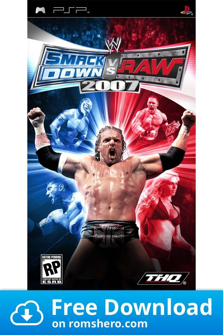 Download WWE SmackDown Vs. RAW 2007 Playstation Portable