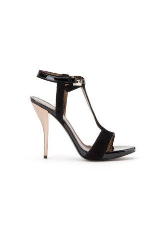 Lanvin suede black sandal - LuxuryProductsOnline