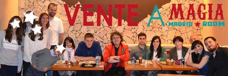Vente a nuestra cena magia Madrid
