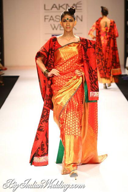 Gaurang Shah bridal saree