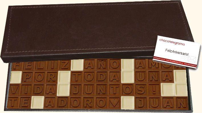 Caja Clásica de 56 chocolates.