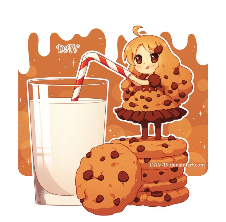 Petite fille cookie