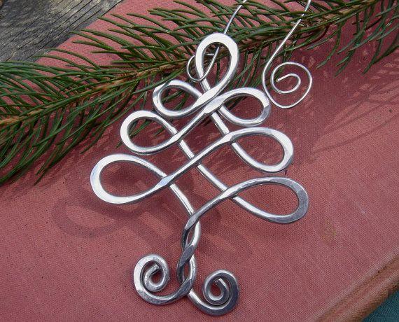 Celtic Christmas Tree Ornament Christmas by nicholasandfelice
