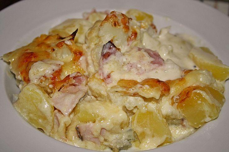 Blumenkohl - Kartoffel - Auflauf 1