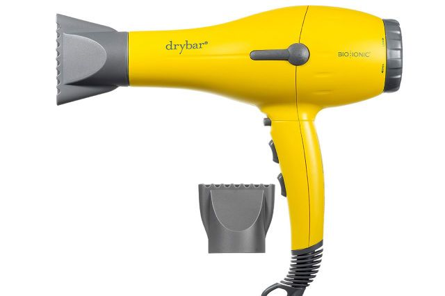 Drybar Buttercup Blow Dryer - Best for: Infusing '90s hair-commercial body into hair Why we like it: This dryer was built to bring the volume. The official dryer of popular blow-dry bar, Drybar, this gem boasts an ultra-powerful motor to get the job done fast. Plus, it's made with Nanoionic minerals to hydrate hair. We love its nine-foot cord with hang loop and self-locking cool shot button for finishing touches. Its signature yellow and gray color palette is a sunny twist, as well. Drybar…