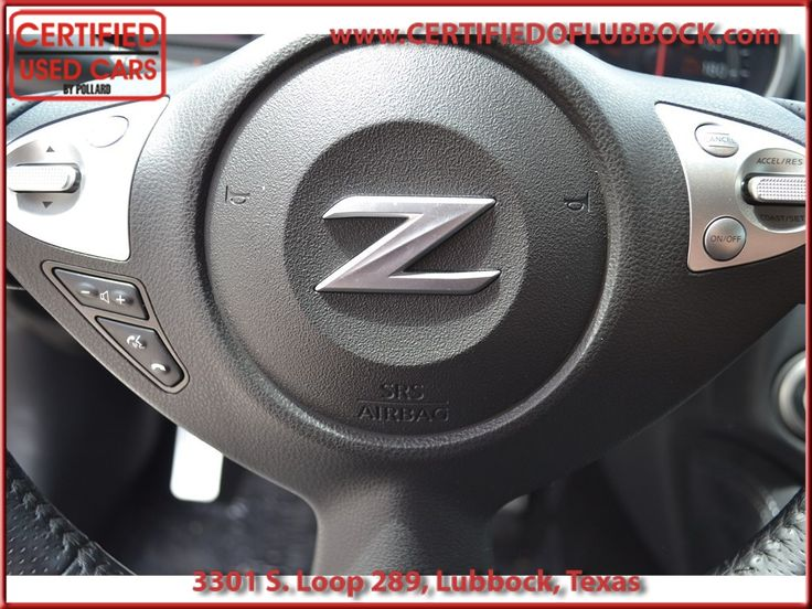 2014 Nissan 370Z at Certified Used Cars in Lubbock Texas!