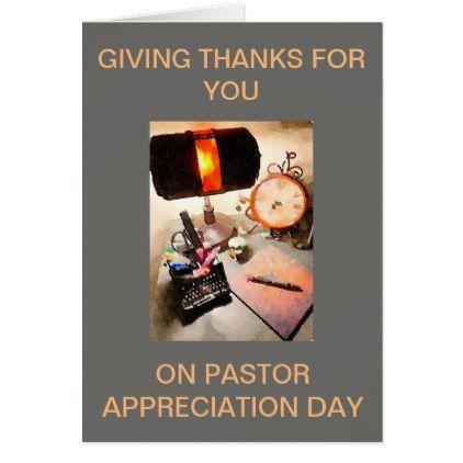 Card Pastor Appreciation Day Galatians 6:6 - personalize gift idea special custom diy or cyo