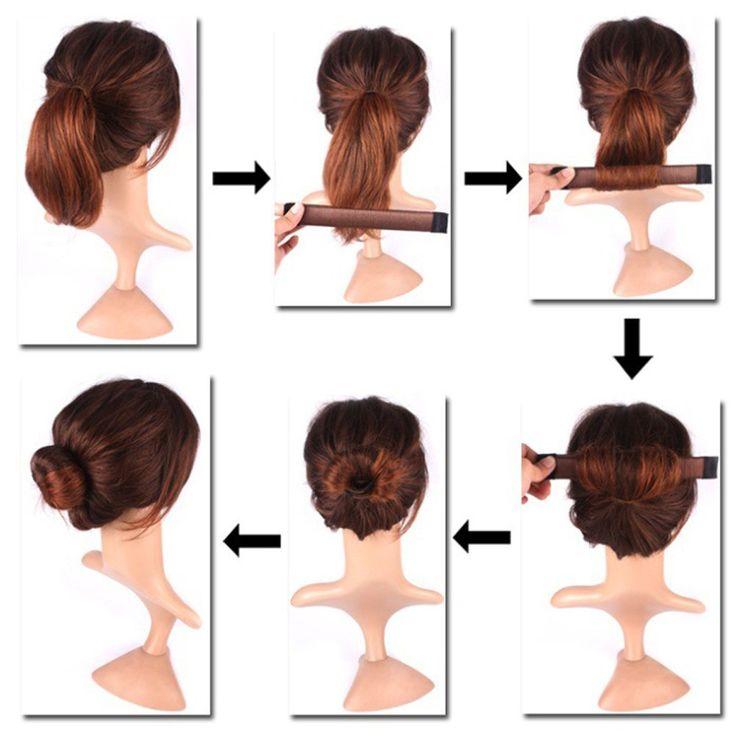 SHERUI Hair Bun Maker, 10pcs Bun Maker Hair Bun Shapers Women Girls Donut Hair Bun Maker Magic DIY Curler Roller Hairstyle Tools * More details can be found by clicking on the image. #hairoftheday