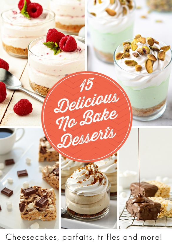 15 Delicious No Bake Desserts | My Baking Addiction