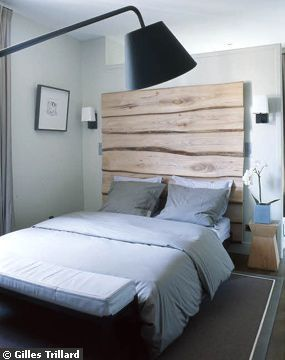 1000 id es sur le th me t te de lit en bois sur pinterest. Black Bedroom Furniture Sets. Home Design Ideas