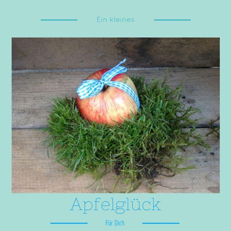 Wir zeigen euch, wie ihr eine Grußkarte zum Thema Apfel gestaltet