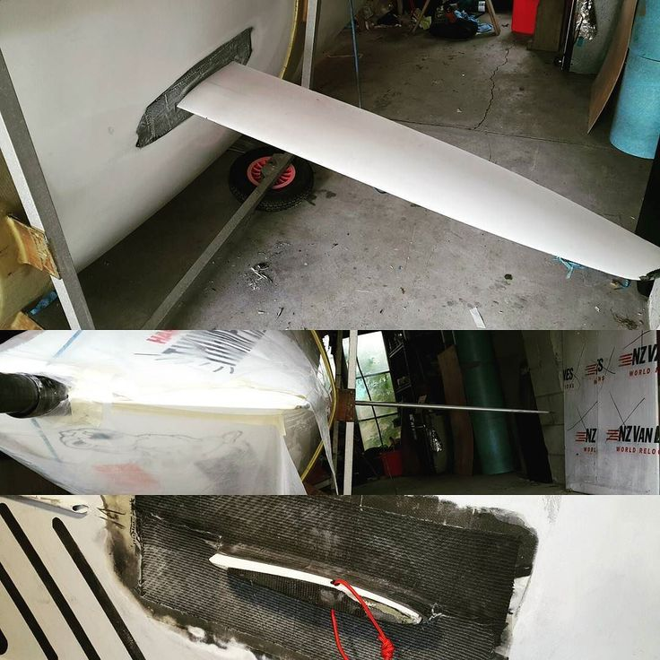 Yay! The Centreboard fits the newly installed cassette / sleeve. Thank goodness. The fit is perfect. Can't wait to get back sailing. Just need to sand and paint this week. #boatrepair #sailing #JavelinSkiff #carbonfiber #carbonfibre #skiff #dinghy #carbon