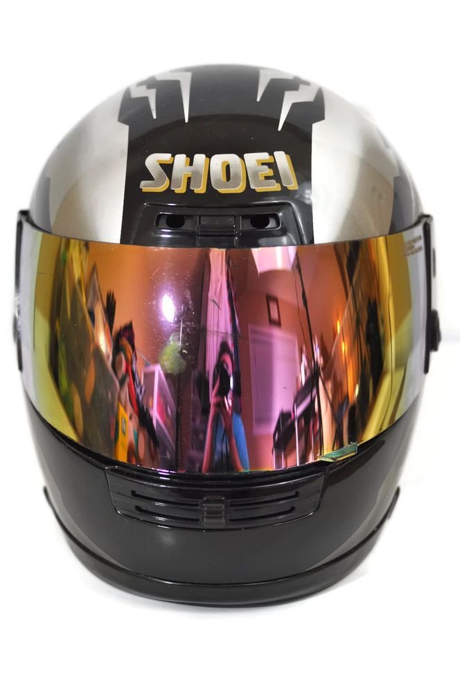 Shoei Motorcycle Helmet Elite Series Size L Snell M90 Dot Full Face Graphic ATV  #Shoei