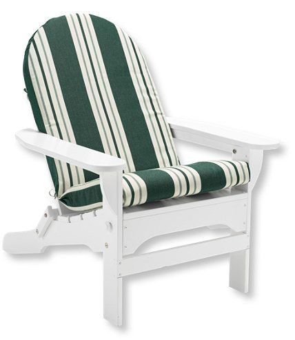 Casco Bay Adirondack Chair Cushion, Stripe ($89)