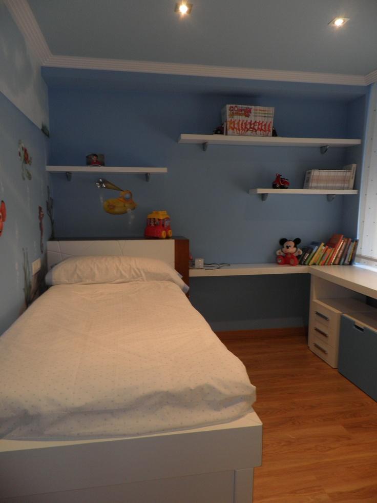Dormitorio para un niño muy muy personal