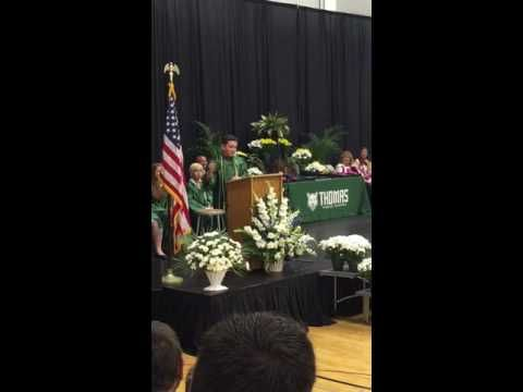 Must watch!! 8th-Grader Jack Aiello Nails Impersonations Of Trump, Cruz, Obama, Clinton, Sanders In Grad Speech : NPR 6.16.16