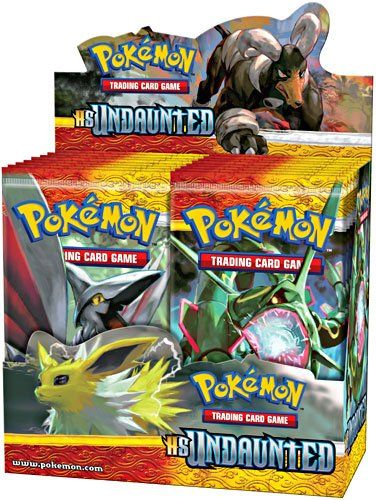top  $119 99 Amazon.com: Pokemon Card Game Undaunted (HS3) Booster Box 36 Packs: Toys & Games