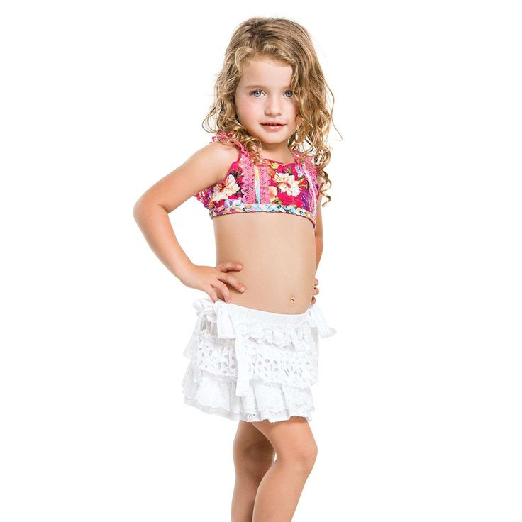 Agua Bendita 2016: BENDITO CRISTAL GIRLS SKIRT { AN20046C1 ...
