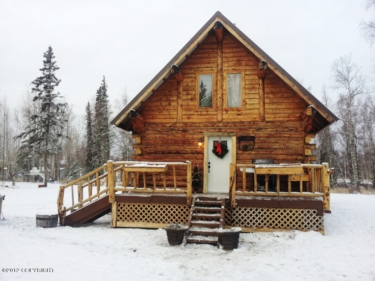 Log home builders wasilla ak home review for Home builders alaska