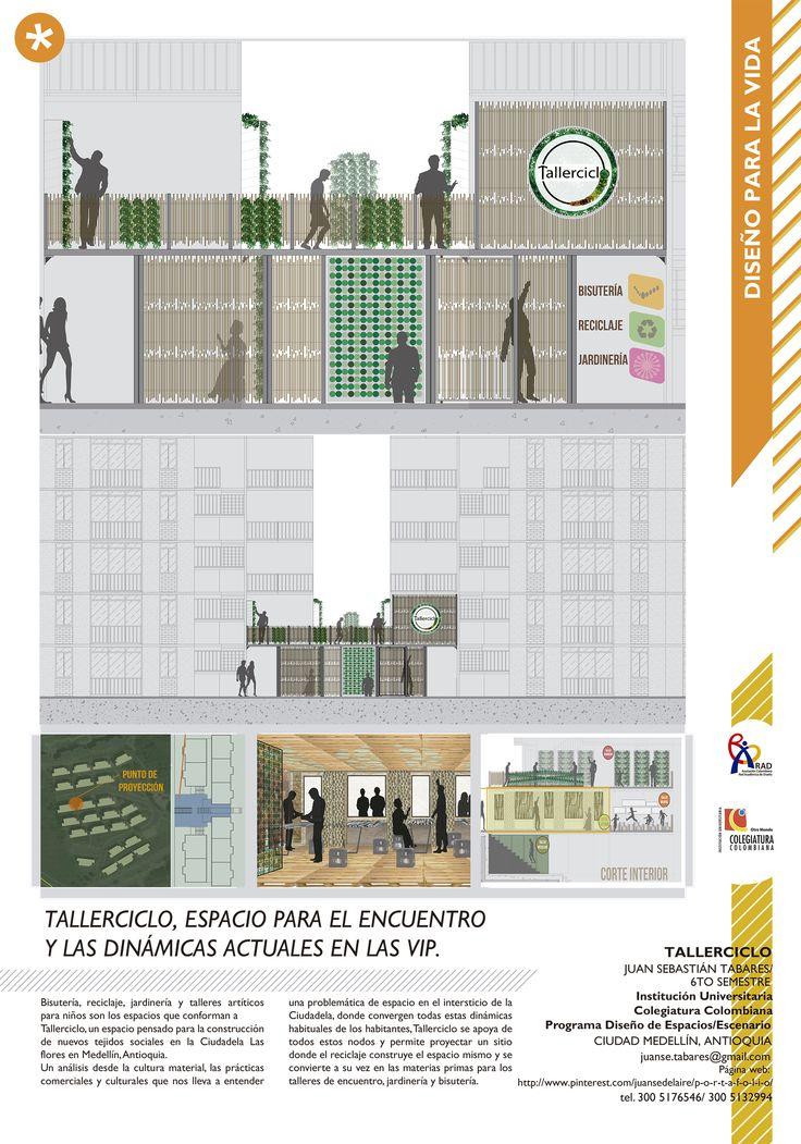 """Propuesta para la última exposición de la  RAD (red académica de diseño de Colombia) en la Cámara de Comercio Salitre, Bogotá.  La temática: """"Diseño para la VIDA"""". Bogotá, Colombia Por Juan Sebastián Tabares Poster - Graphic - Medellín."""