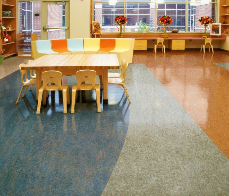 Lin leo linoleum floor curated by modern paint for Modern linoleum flooring